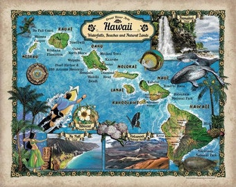 Hawaii map, map Hawaii, hawaii, hawaiian, hawaiin map, map hawaiian, hawaiian islands, islands, islands hawaii, tommy bahama, hawaii decor