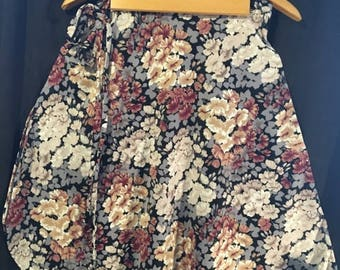 Wrap Dance Skirts/(5) Floral(featured) Variety of 4 Solid Colors/One Size Fits Most