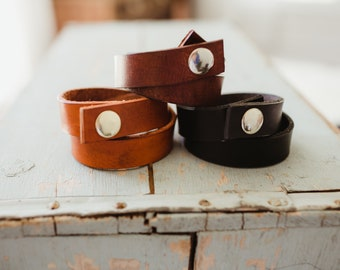 Rustic Leather Wrap Bracelet, Boho Leather Wrap Bracelet, Black Leather Wrap Bracelet, Women's leather Bracelet, Brown leather bracelet