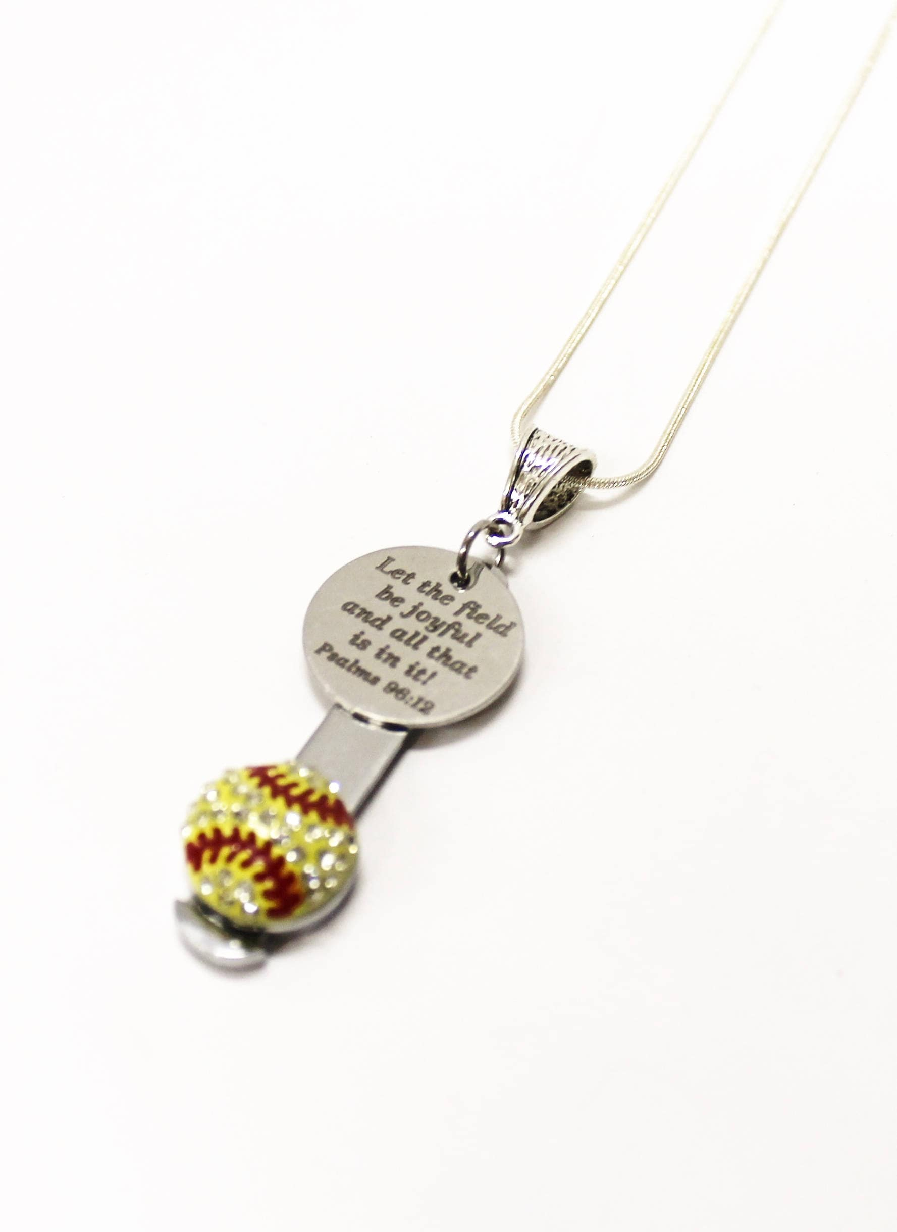necklace player baseball similar items glove on sterling and charm gift etsy softball mom to silver pin coach