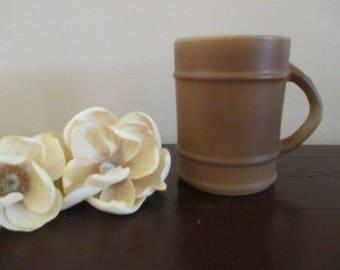 Fire King Barrel  Brown Mug
