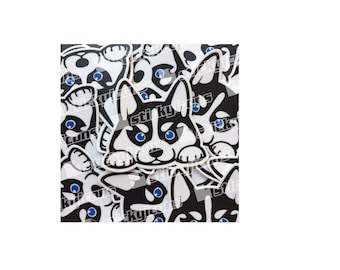 Siberian Husky Decal/Sticker