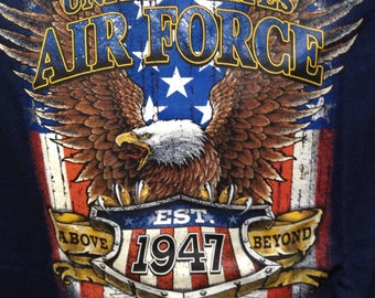 Air Force T Shirt with eagle