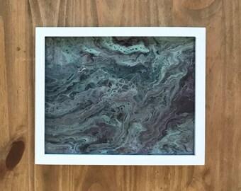 Aqua Flow Painting