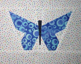 Pieced Butterfly Quilting Pattern/Tutorial