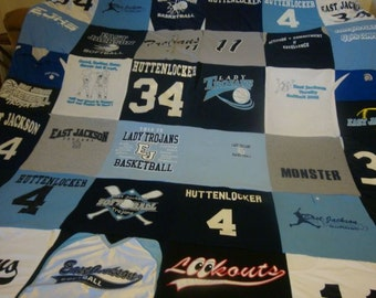 T-Shirt Memory Blanket Unlimited Items and Size (payments accepted)