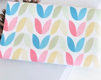 Cotton Fabric Pastel Tulip By The Yard