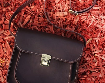 Leather bag, Women handbag, Women leather handbag, leather shoulder bag, leather bag women, brown leather bag, leather crossbody bag