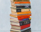 Banned Books. Limited edition giclée print.