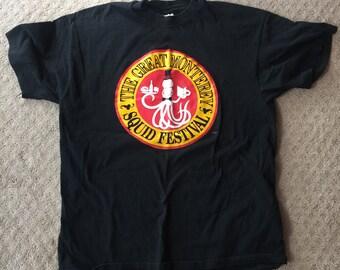 Unique unusual squid festival shirt