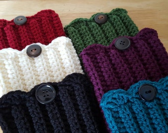 Crochet Boot Toppers - Boot Cuffs - Boot Socks - Faux Leg Warmers - Womens Fashion Accessories - Fall Winter Accessories