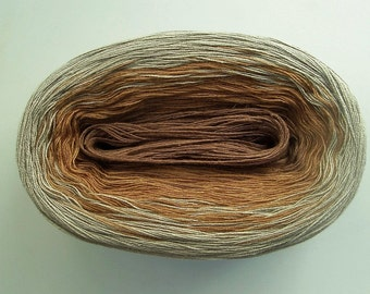 ALLOY II  Color Changing Cotton yarn  480 yards/100 gr  Fingering weight