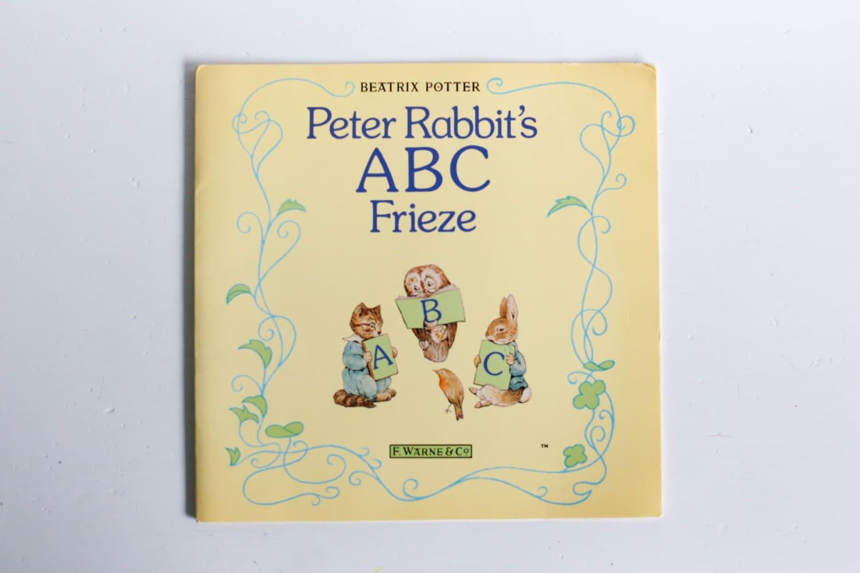 Peter Rabbit\'s ABC Frieze Beatrix Potter F. Warne & Co.