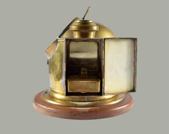 Victorian Kelvin & Hughes Binnacle Compass