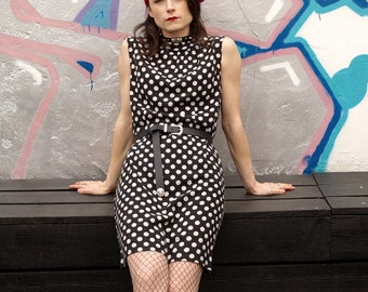 Vintage 60's Polka Dot Dress
