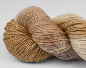 Handpainted Yarn, Merino Silk 50/50, Lambent, Fingering Wt, 100 g, Yellowstone