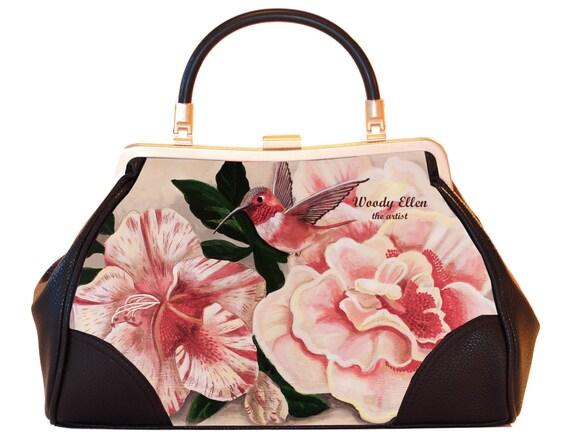 Retro handbag, Vintage handbag, Honey Bird, christmas gifts, gift for her, gift for mom, Pinup fashion, Valentine gift ideas, wedding