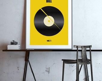Creative Minimalistic Kill-Bill Poster design
