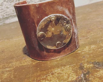 Mixed Metals Cuff