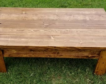 JF Custom Concealment Coffee Table