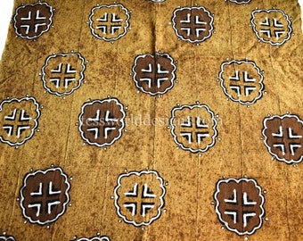 Mali mud cloth/ Mali mudcloth/ African mud cloth/ Mud cloth fabric/ Bogolan fabric/ African cloth/ Hand woven Koku MC252