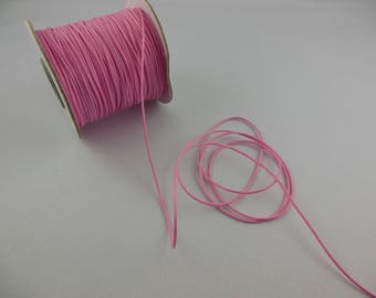 Lace cord waxed 7 colors