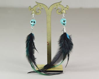ALGOMA feather earrings