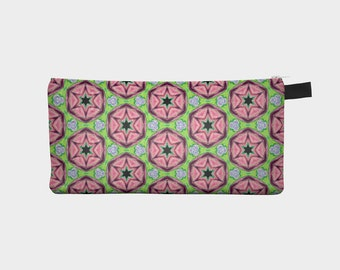 Modern Pencil Pouch Cosmetic Case Makeup Bag Pouch Case Brides Maids Gift Zip Pouch Travel Bag Organizer