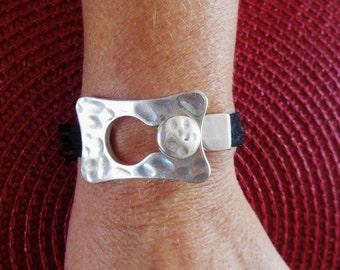 Zen Inspired...Modern Design Bracelet...