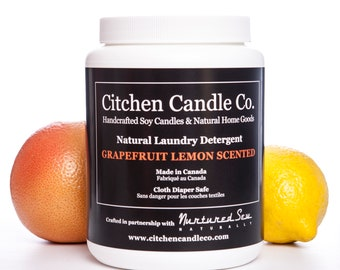1kg Grapefruit & Lemon Natural Laundry Detergent