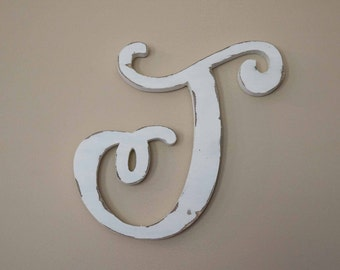Wooden Letter Nursery Monogram Baby Name Girly