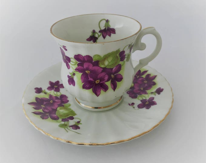 Seltmann Weiden China Royal Bavaria-Moka Cup and saucer made in Germany
