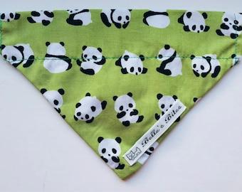 Roly poly panda bandana