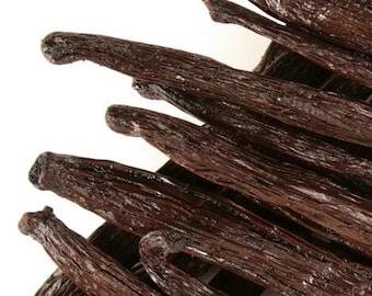 Whole Vanilla Beans | Madagascar Vanilla Beans - Premium 4ct. | Homemade Gift For MOM | Vanilla Extract Recipe