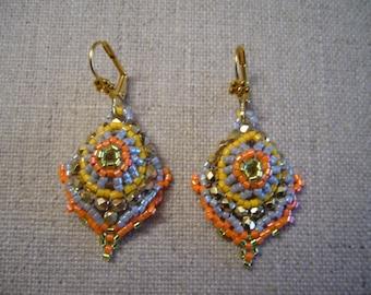 Zara multicolor earrings
