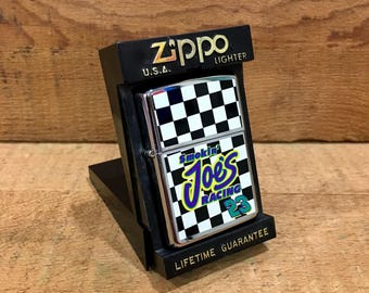 Vintage Zippo Camel Advertising Cigarette Lighter / Never Used / Smokin Joe's Racing