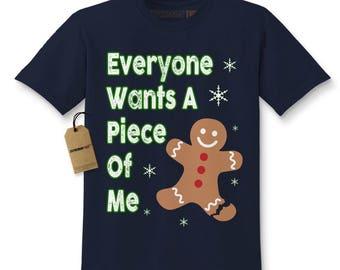 Everyone Wants A Piece Of Me Gingerbread Kids T-shirt
