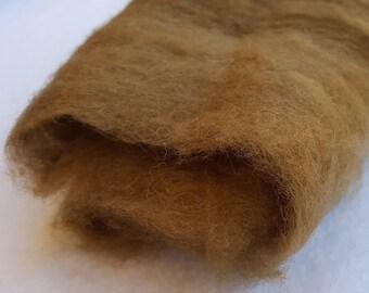 Merino Wool Roving - Moss - 1 oz