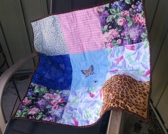 Big Block Butterfly Quilt