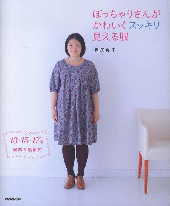 Kawaii-Kleidung für mollige Frauen Japanische Schnittmuster