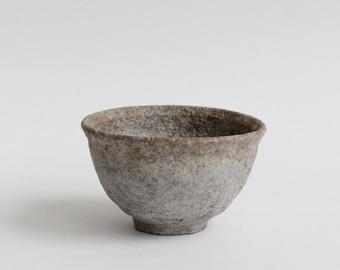 Tea Cup, 'Whitewash & Grey Drift', MI_217