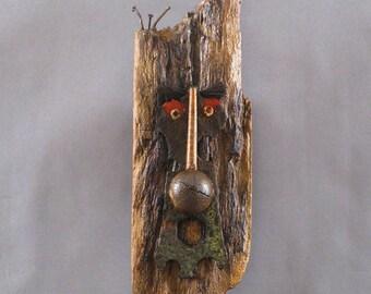 Mask Sculpture Art - Gip