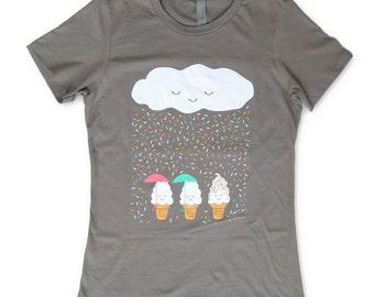 Chance of Raining Sprinkles WOMENS T-shirt