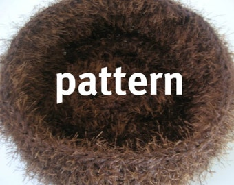 CROCHETING PATTERN Newborn Nest Photography Prop, Sell What You Make, Instant Download
