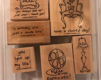 Furnished with love Stampin' Up! Set