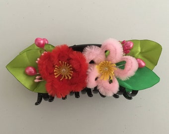 Cherry Blossom Claw Hair Clip, Spring Collection Hair Accessories