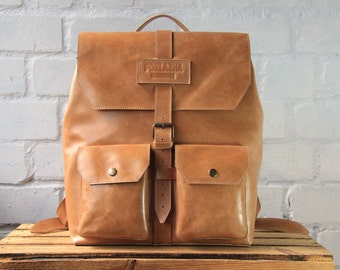 leather backpack leather women backpack leather men backpack handmade backpack boho backpack casual backpack brown backpack