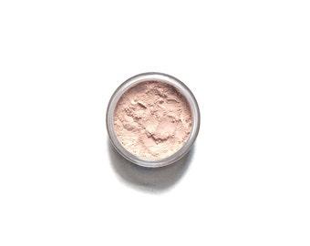 Radiant - Pale Peach Vegan Mineral Eye Highlighter / Eyeshadow - Handcrafted Makeup