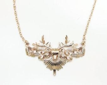 Deer Necklace,