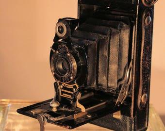 Kodak No 2 Folding Autographic Brownie Camera